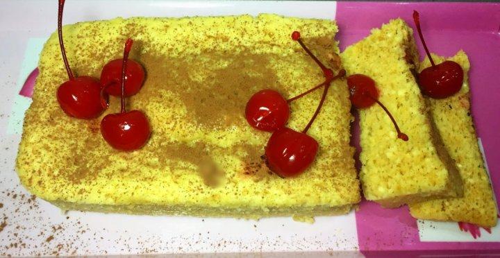 macadamia nut brittle loaf