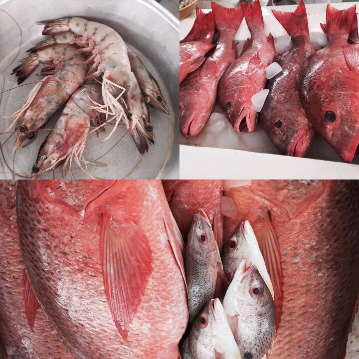 Rio Hato Seafood Market, Panama